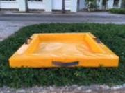 Spill Containment Berms in customized size for oil, fuel, and chemical or many portable options for drive in spill containment. Made from PU foam and heavy duty PVC