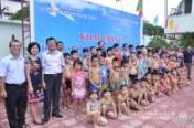 Khai mạc lớp học chống đuối nước cho 115 con cán bộ CNVC cơ quan Trung ương Đoàn 2014