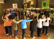 Tập huấn dân vũ cho Giáo viên tổng phụ trách, học sinh quận Thanh Xuân (Hà Nội)