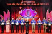 Lễ tuyên dương thanh tiên tiên tiến làm theo lời Bác lần thứ IV năm 2016