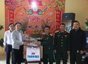 Hội CCB cơ quan Trung ương Đoàn thăm và chúc Tết Trung đoàn 88 - Sư đoàn 308.