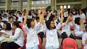 Yên Bái tổ chức chương trình giao lưu tuyên truyền về bảo hiểm y tế học đường