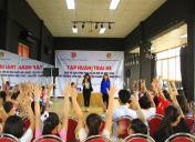 Tập huấn Dân vũ nâng cao cho Tổng phụ trách khối Tiểu học quận Thanh Xuân