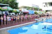 Công đoàn CQ Trung ương Đoàn: Khai mạc lớp chống đuối nước và nâng cao kỹ năng bơi cho con CBCCVC cơ quan