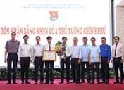 Trung tâm Thanh thiếu niên Trung ương đón nhận Bằng khen của Thủ tướng Chính phủ
