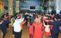Tập huấn dân vũ cho Tổng phụ trách Đội các trường Tiểu học và THCS quận Thanh Xuân (Hà Nội)